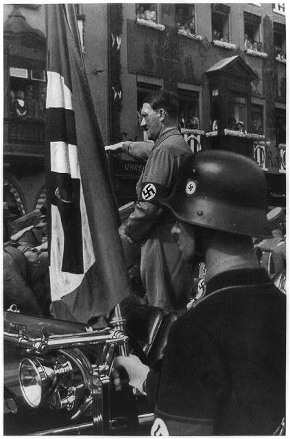 a look at adolf hitlers push or a new order for germany and his so called aryan race Leading nazis, and early 1900 influential german biologists, revealed in their writings that darwin's theory and publications had a major influence upon nazi race policies.
